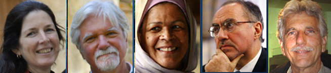 Presenters for July 15-17, 2011 Baraka Retreat